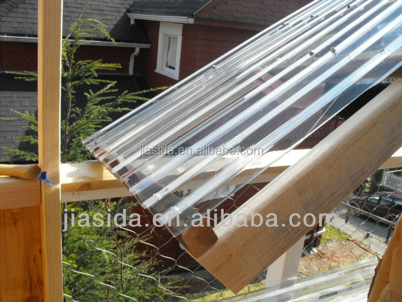 Corrugated Polycarbonate Sheet/ Plastic Roofing Sheets/sunroom ...