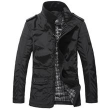 Luxusná jarná pánska bunda/kabát z Aliexpress