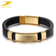 Luxury gold jewelry cuff bracelet