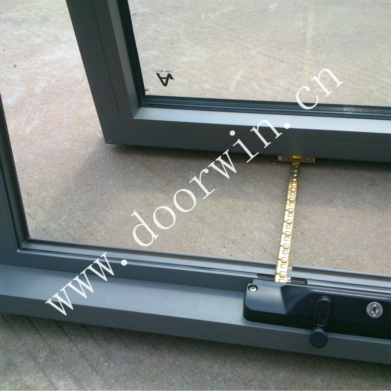 Australian Standard Aluminum Chain Winder Awning Window with Flyscreen