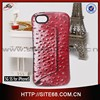 sparkle series alibaba express tpu cover leather flip case for iphone 5G 5S