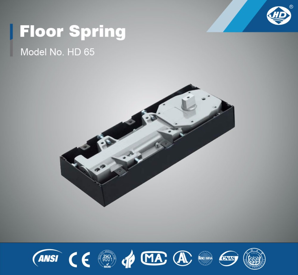 HD65 Hydraulic Floor Spring/Floor hinge/door closer for glass door aluminum door