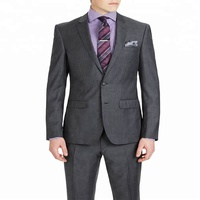 Hot Selling Italian Style Fashion Slim Fit Wedding Suit Men's Business Suit