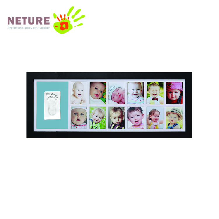 Baby Birthday Gift Baby Footprint Frame Kit - Buy Baby Footprint ...