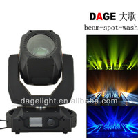 DAGE manufacturer beam spot wash 3in1 stage beam light with cheap price