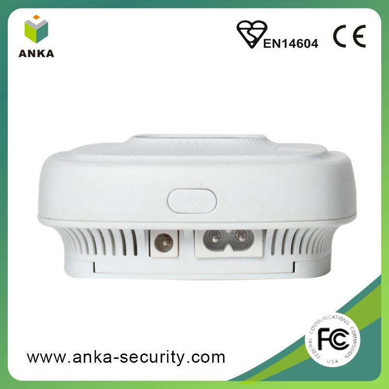 High quality intelligent red LED flash zigbee methane gas detector