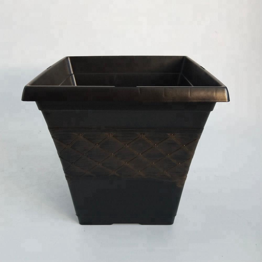 Square Cheap Garden Bulk Plastic Flower Pot Buy Metal Flower Pot