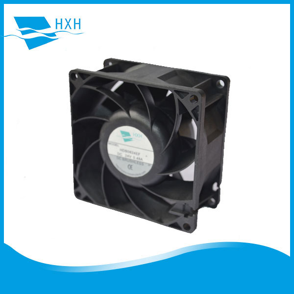 HD8038 80x80x38mm 12v ac dc electric fan for electronic oven