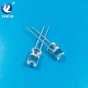 electronic components free samples light emitting diode 3mm 5mm concave led diode