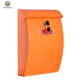 Wall Mount Letterboxes Modern Mailbox Large Outdoor Steel Lockable Postbox for Modern Houses