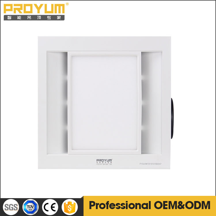 Kitchen Ceiling Mounted Exhaust Fan With Led Light Lower Noise ...