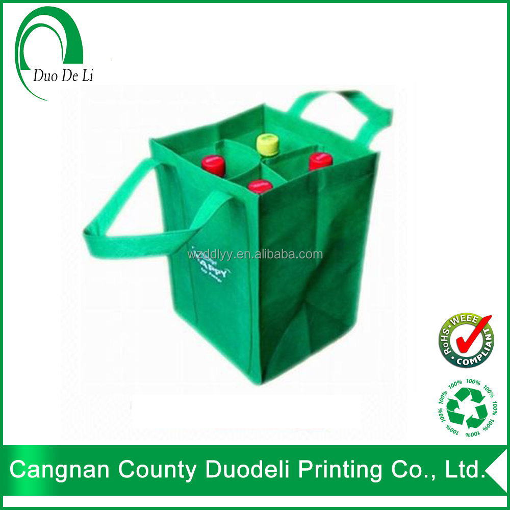School bag hs code - Low Price Recycle Pp With Hs Code Non Woven Wine Bag Custom Design Wholesales