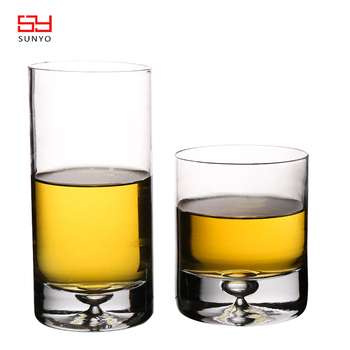 Wholesale Manufacturer Handmade Bottom Base Whisky Glass Set