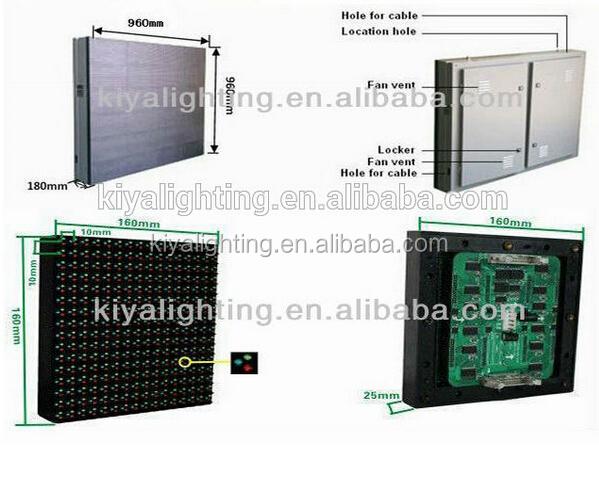 Kiya p10 ext rieur led fabricant de l 39 cran panneau for Fabricant panneau publicitaire exterieur