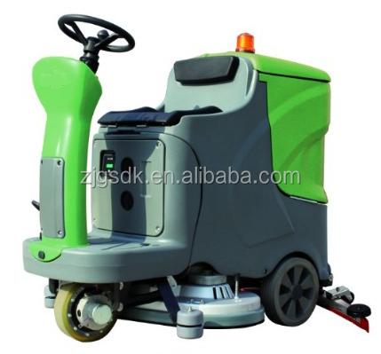 Sdk 850 reasonable price driving on concrete marble floor for Concrete floor cleaner machine