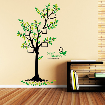 Diy 3d Pvc Family Tree Deconration Wall Sticker - Buy Wall ...