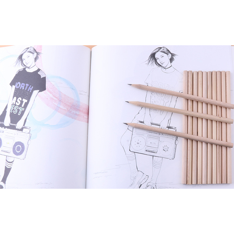 Sketch/Draw wooden Pencils
