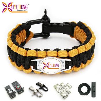 Whole Paracord Bracelet Dog Name Tag