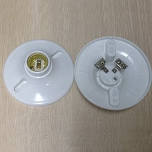 E27 plastic wall mounted lamp holder