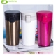 Double Wall Vacuum Insulated 18/8 Stainless Steel Travel Tumbler Coffee/Tea Mug with Leak Proof Locking Lid