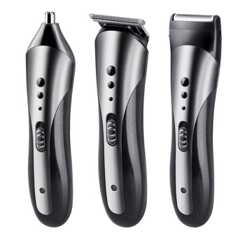 Kemei 3 in 1 Best Quality Hair Clipper Nose Trimmer Man's Shaver KM-1407 Wholesale