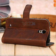 Magnetic Card Folio Leather Stand Case for Samsung Galaxy S4 i9500 i9505 P-SAMI9500CASE028