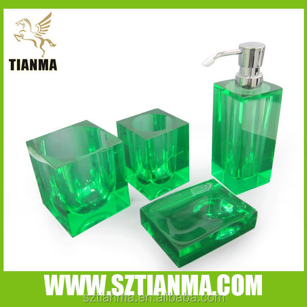 Glass Bathroom Accessories Set Amber Color, Glass Bathroom Accessories Set  Amber Color Suppliers And Manufacturers At Alibaba.com