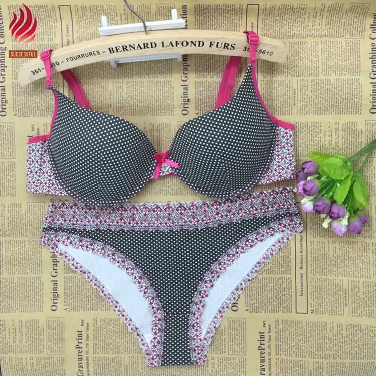Women/'s Black Bra /& Panty Panties Set
