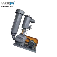 inflate machine three lobe roots vacuum pump air blower manufacture cheap price