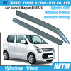 Hot sale window deflector rain visor for Suzuki Wagon-R(MH23)