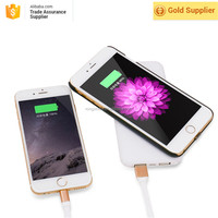 2017 Alibaba Express China High Quality New Design Hot Sale 10000mAh Power Bank Wireless Charger for iphone 7 Battery Charger