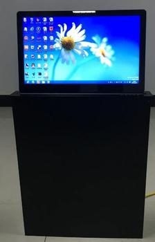 table mount pop up lcd monitor lift/ conference system lcd lift