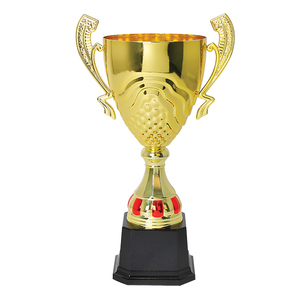Factory custom High End Quality Gold Metal Cup Trophy