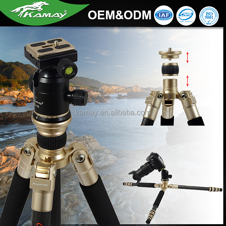 Cool appearance multi-function good quality durable travel flexible camera tripod