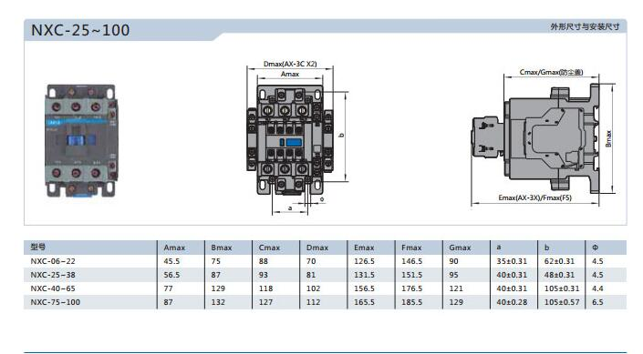 CHNT China 32A 3P GB14048.4 AC chint contactor