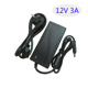 AC 220V Led switching power supply AC/DC adapter 12V 3A 36W Table type AU/EU/UK/US plug available