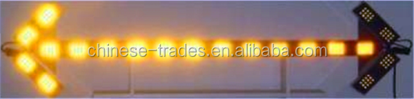 Hot sale LED vehicle flashing strobe amber light bar /multi color warning light bar LED Emergency Warning Use Flashing Light Bar