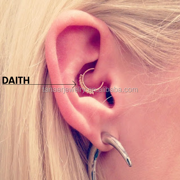 New Stuff Silver Tragus Piercing Jewelry Cartilage Earring
