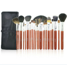 22pcs Animal Hair Professional High Quality Makeup Brush Make Up Set
