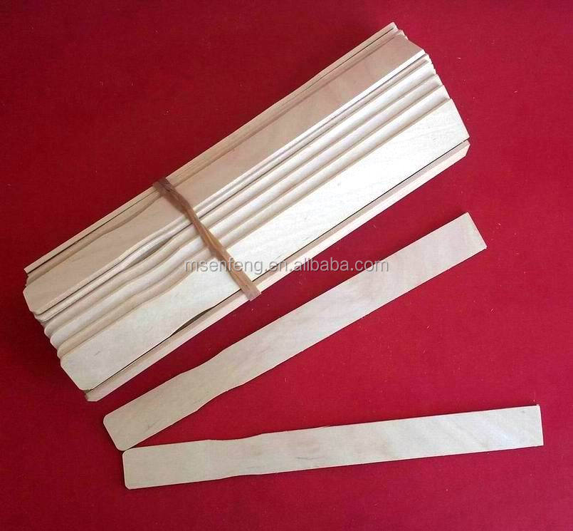 hot sale high quality wood paint paddle sticks factory