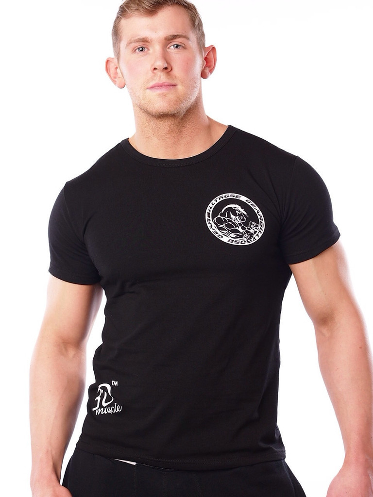 Black t shirt guy - Black T Shirt For Man Custom High Quality Fitness Bodybuilding T Shirts For Men