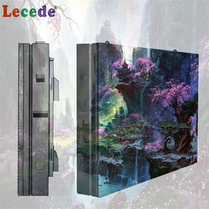 Lecede HD good quality high resolution p10 outdoor led display shenzhen led display factory
