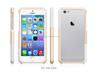 New 2015 High Quality colorful TPU+PC material hybrid Shell Bumper Case for iphone 6 4.7 inch