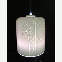 Fashion Table Decorative Electric Portable Ceramic Flower Oil Ultrasonic Aroma Diffuser