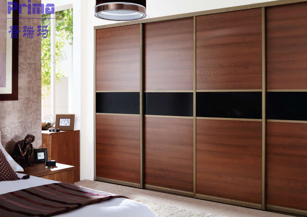 New design for bedroom sliding wardrobe door furniture - Designs on wardrobe ...