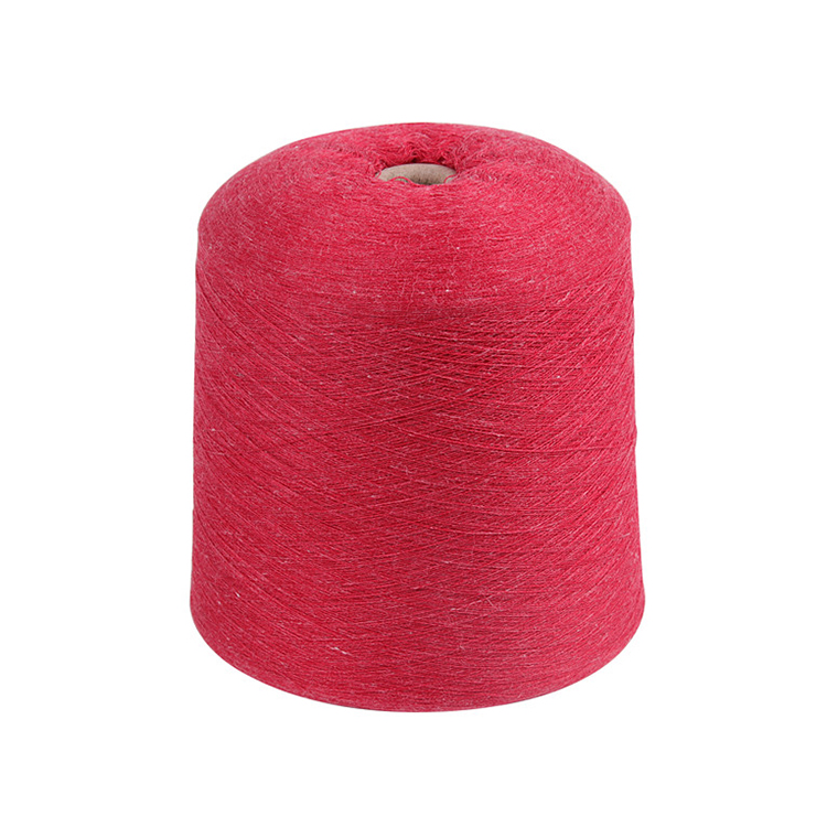 Customized 32S/2 Linen Blend yarn 15%Linen 85%Polyester Low price