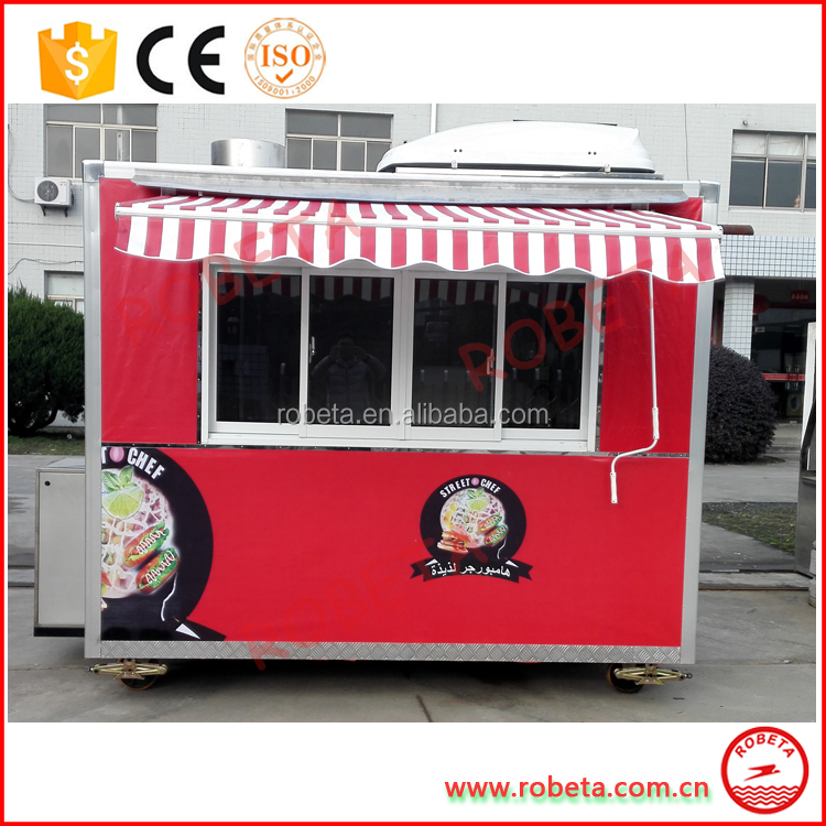 food cart business franchise / antique food cart / hand push food cart