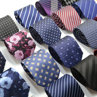Printed Silk Necktie Hand Made Wholesale 8cm Silk Ties For Men