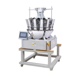 10 head used High Dream Multihead weigher for mushroom and meat