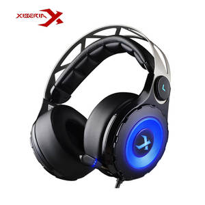 XIBERIA T18 Gaming Headset 7.1 Usb Over Ear Glowing Pc Headphones Headband Stereo Earphone Gamer Headset Low Bass Casque Audio
